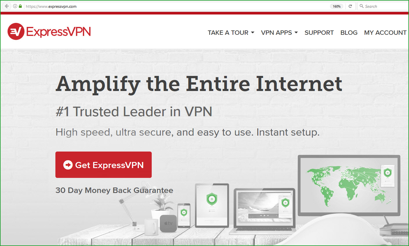 expressvpn review heading