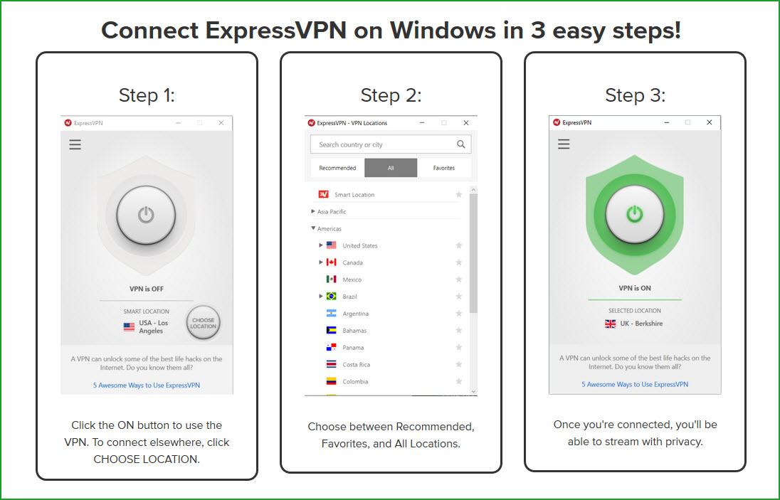 expressvpn review windows app
